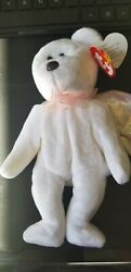Mint Rare Halo Beanie Baby Retired With Rare Brown Nose, With Tag