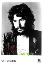 Cat Stevens Large Autograph Signed 12x18 Inch Photograph Poster - Top Quality