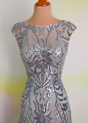 2020 PLUS Silver EVENING PROM PAGEANT FORMAL BALL GALA DRESS WEDDING GOWN 5XL $219.00