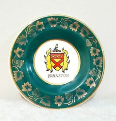 Vintage Arklow Pottery Johnston Historic Families Dublin Collector's Plate