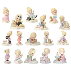 Precious Moments 01-16 Bundle Of Growing In Grace - Blonde - Set Of 16 Ages One