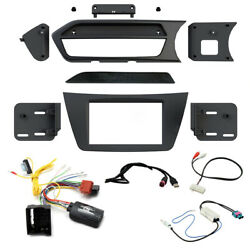 Mercedes C Class W204 Double Din Fascia Steering Controls Car Stereo Fitting Kit
