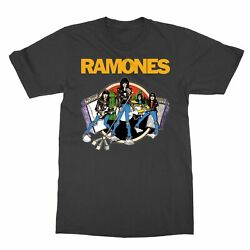 Official Ramones Road To Ruin Menand039s T-shirt