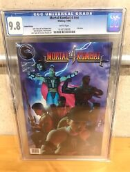 Mortal Kombat 4 Limited Edition Cgc 9.8 Holy Grail Of Mk Lone Top Census 1 Of 1