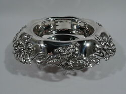 Bowl - 15484a - Antique Centerpiece - American Sterling Silver - 1902/7