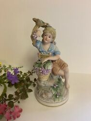 Vintage Figurine Girl