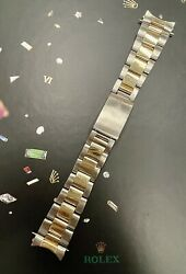 Rolex Datejust 36mm Mens 78363 18k Yellow Gold/steel Oyster Band 458 B End 16233