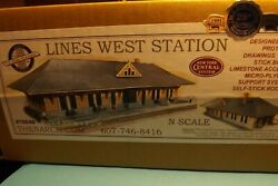 N Scale Lines West Station By N- Scale Architect 10049