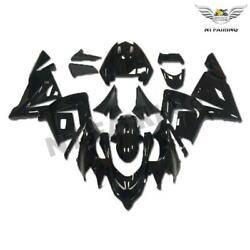 Nt Injection Glossy Black New Fairing Kit Fit For Kawasaki 2004 2005 Zx10r T08