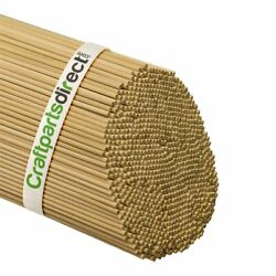Wooden Dowel Rods - 1/8 X 36 Unfinished Hardwood Sticks - For Crafts And Diyand039e