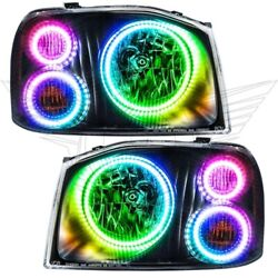 Oracle Lights 3564-330 Led Headlight Halo Kit Colorshift For 01-04 Frontier New