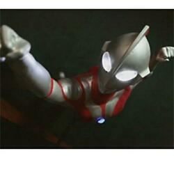 Ultraman Promotional Item Figurine With Lights Genuine Custom Made Fs From Japan