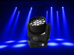 19x15w Led Rgbw Wash Zoom Dmx512 Moving Head Light With Road Case Packing
