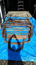 Wooden Boat Frames And Transom