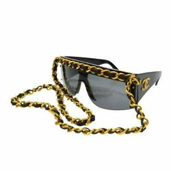 CHANEL vintage sunglasses chain 25 inch From Japan FS