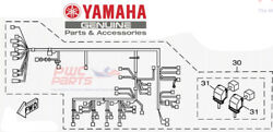 Yamaha Oem Wire Harness Assembly 1 6dh-8259l-10-00 2018-2019 Gp1800r