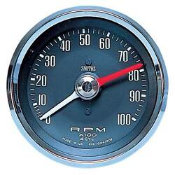Smiths Race Rally Classic Tachometer With Adjustable Red Line 0-10000 Rpm