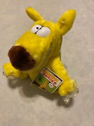 Vintage 1987 Mother Goose And Grimm Plush Grippits Suction Cup Plush Toy W/ Tags