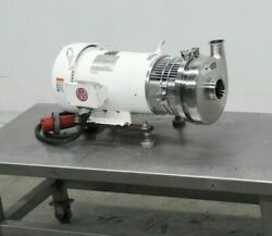 2017 Tri-clover C328 Stainless Steel Centrifugal Pump 10hp