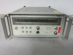 Hp 5347a Microwave Counter Power Meter Option H06 001 10hz To 20ghz