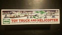 Hess Toy Truck Collection - 2006 Toy Truck And Helicopter