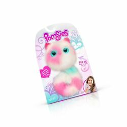 Pomsies Patches Plush Interactive Toys White/pink/mint Standard