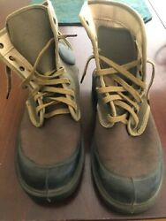 French Army Canvas Jungle Boots. Indo-china Vietnam. 1950s
