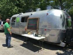 8' x 26' 1971 Vintage Airstream Food Concession Trailer for Sale in Louisiana!!!