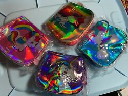 Long Strap Unicorn Shiny Kids Bags Purses NWT 4 STYLES TO CHOOSE FROM Rainbows $14.85