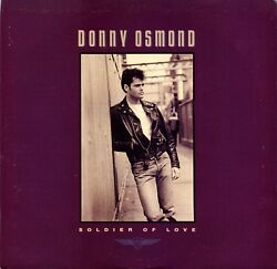 """Donny Osmond """"soldier Of Love"""" 45 Rpm 7"""" Vinyl Record W/ Picture Sleeve Mint"""