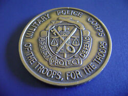 716th Military Police Battalion Army Assist Protect Defend Mp Challenge Coin