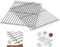 2 Piece Stainless Steel Cooking Grates Parts For Weber Genesis Grill