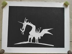 Wilfredo Lam Color Lithograph Signed And Numbered