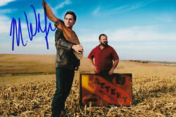 Mike Wolfe Signed 4x6 Inch Photo American Pickers Frank Fritz Danielle Colby