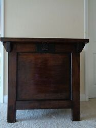 Large Korean Traditional Rice Chest - 35.5 High X 36 Wide X 25 Deep