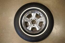 Vintage Micky Thompson 14 X 6 Rader Wheel 5 On 4.5 Gasser Hot Rat Rod Radir Mt