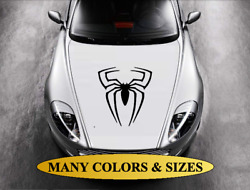 Spider Hood Decal