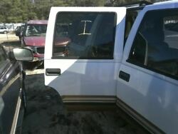 Passenger Rear Side Door Classic Style Electric Fits 95-00 Tahoe 337683