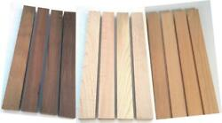 3 4quot;x2quot;x24quot; 4 BLACK WALNUT 4 Maple 4 CHERRY Wood Cutting Lumber Boards 12 Pack $39.45