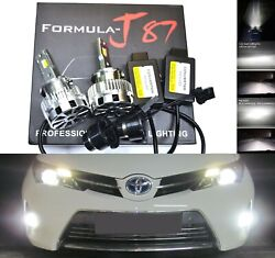 Led Kit Hid 70w D2s White Head Light Two Bulbs Bi-xenon Low Beam Replacement Fit