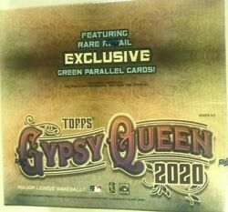 2020 Topps Gypsy Queen Baseball 24 Pack 8 Box Case Factory Sealed