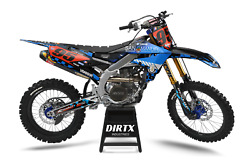 New Dirtx Industries Factory San Manuel Complete Graphics Kit Yz 85 125 250 450