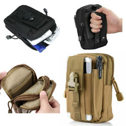 Tactical Molle Pouch Belt Waist Pack Bag Military Nylon Utility Outdoor Belt Bag $7.99