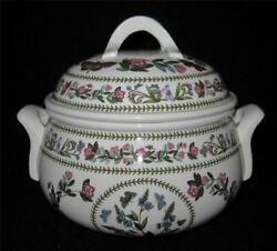 Portmeirion Variations Speedwell Veronica Chamaedrys 2 Qt Round Cover Casserole