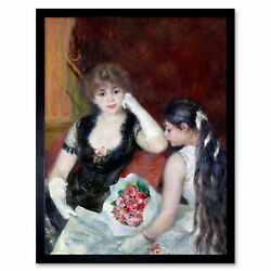 Renoir A Box At Theater At The Concert 1880 Painting Wall Art Print Framed 12x16