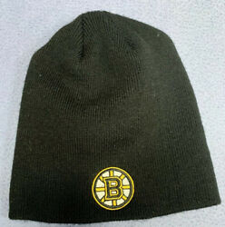 Boston Bruins Beanie Hat Cap One Size By Ots Stanley Cup Finals Nhl Licensed