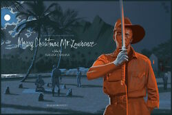 Merry Christmas Mr. Lawrence by Laurent Durieux SIGNED Screen Print Poster Art