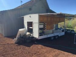 Fully Self-Contained Food Catering Trailer  Used Mobile Kitchen for Sale in Uta