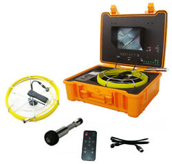 Trojan C130-dvr Inspection Snake Plumbing Camera W/ 7and039 Lcd Dvr And 130and039 Push Rod