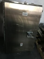 Fd6ss4 New Siemens 250 Amp 600v Stainless 4x Steel Breaker Enclosure Disconnect.